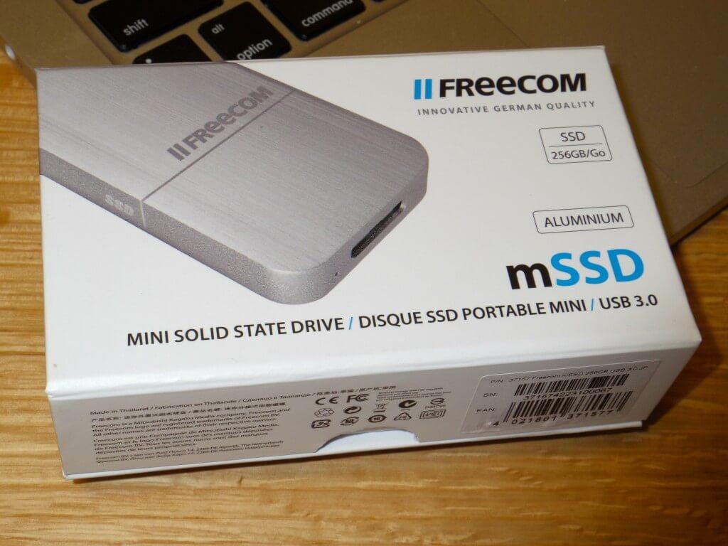FREECOM mini外付けSSD 256GB USB3.0 37157